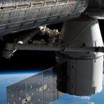 Ruimteschip 'Dragon' Onderweg Naar Aarde