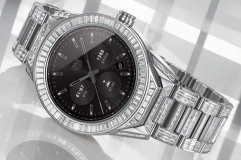 Tag Heuer Connected Full Diamonds Kost 160.000 Euro
