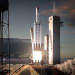 SpaceX Falcon Heavy-raket Vliegt Vandaag Voor Het Eerst