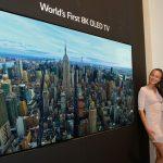 LG Heeft Eerste 8K OLED-scherm Gepresenteerd