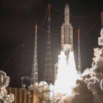 Voor Honderdste Keer Europese Ariane 5-raket Gelanceerd