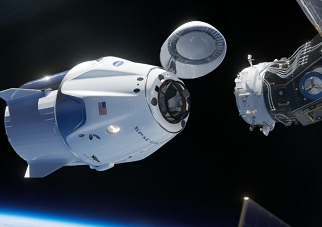SpaceX-raket Crew Dragon Succesvol Gelanceerd