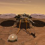 InSights-lander Is Succesvol Geland Op Mars