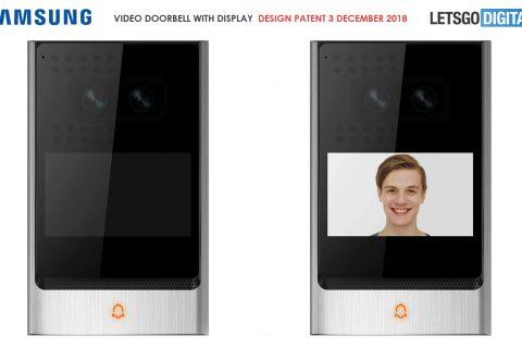 """""""Samsung Werkt Aan Deurbel Met Ingebouwde Camera"""""""