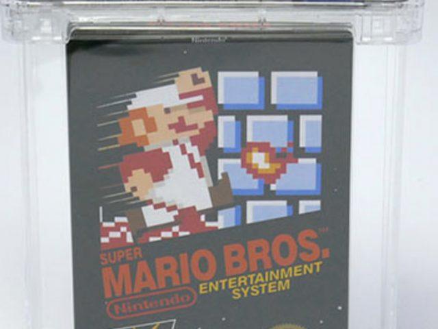Zeldzame NES-game Super Mario Bros. Voor 100 Duizend Dollar Verkocht