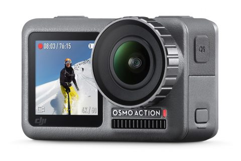 DJI Osmo Action Camera Aangekondigd