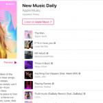 Nieuwe Afspeellijst In Apple Music Ververst Elke Dag