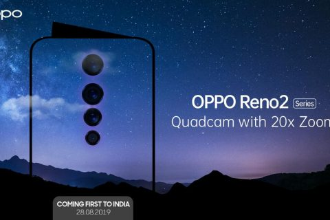 Oppo Teaset Reno 2-serie Met 20x Zoom En Quad Camera