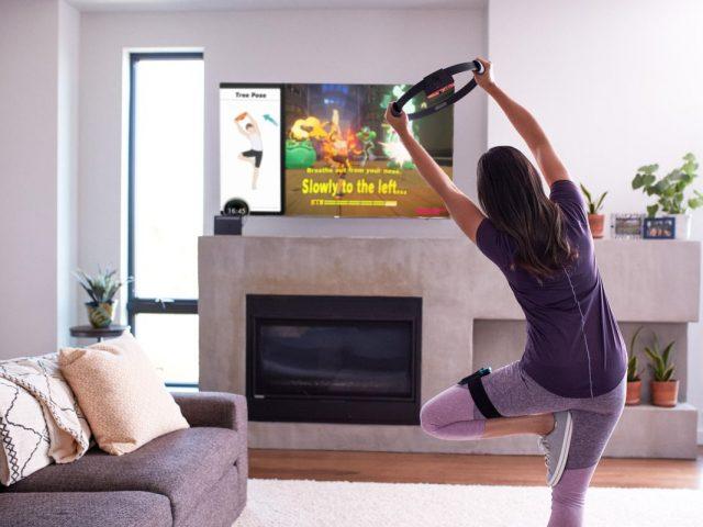 Nintendo Ring Fit Adventure Verschijnt In Oktober Voor Nintendo Switch