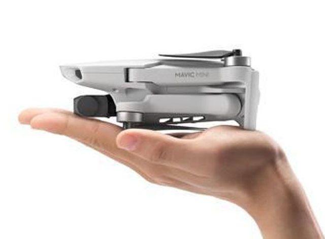 DJI Mavic Mini Aangekondigd: Weegt 249 Gram en Kost 399 Euro